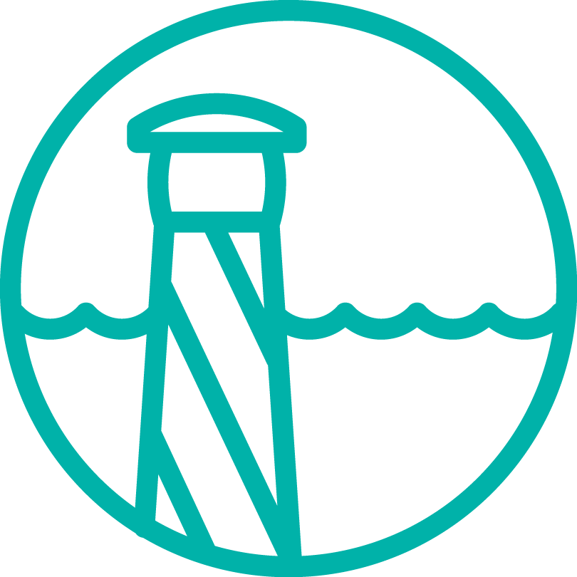Coast marine icon
